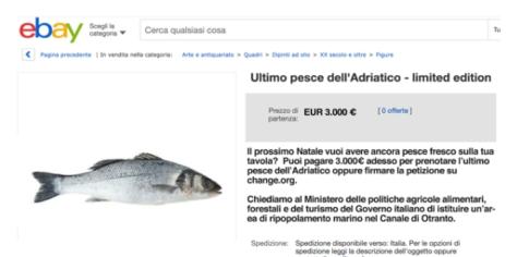 Ebay ultimo pesce